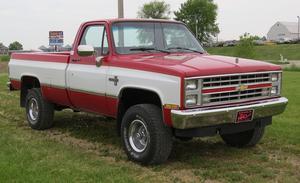 Chevrolet C10 4X4 Silverado LWB Pickup