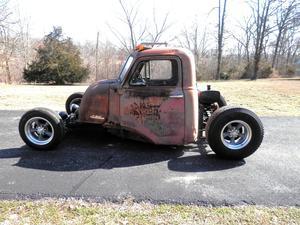 Rat Rod Chevy Truck 1941 Cozot Cars Gmc Pickup Coe Snub Nose Cool
