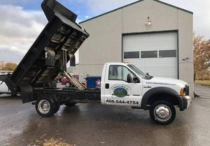 Ford F550 Dually Dump Truck
