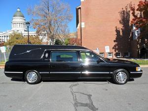 Cadillac Hearse Built BY S&S Coach Company