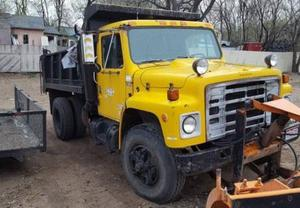 International Bobtail Dump Truck