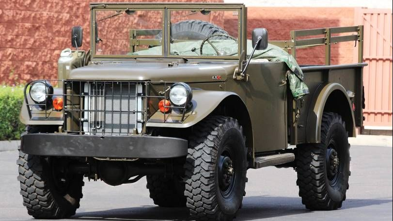 Dodge m37 military truck for sale | Cozot Cars