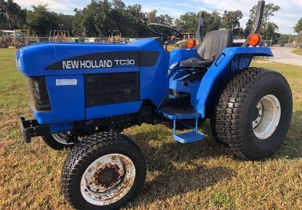 New holland tc 40 da tractor | Cozot Cars