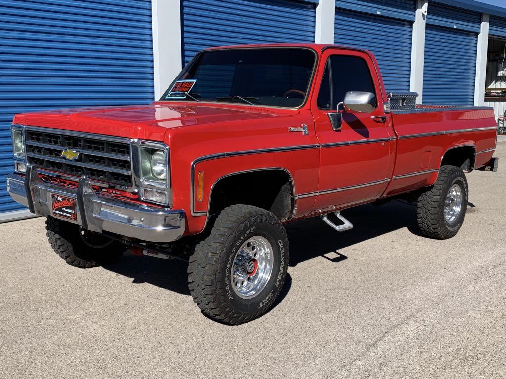 Chevrolet Silverado K20 4 X 4 Long Wide BED