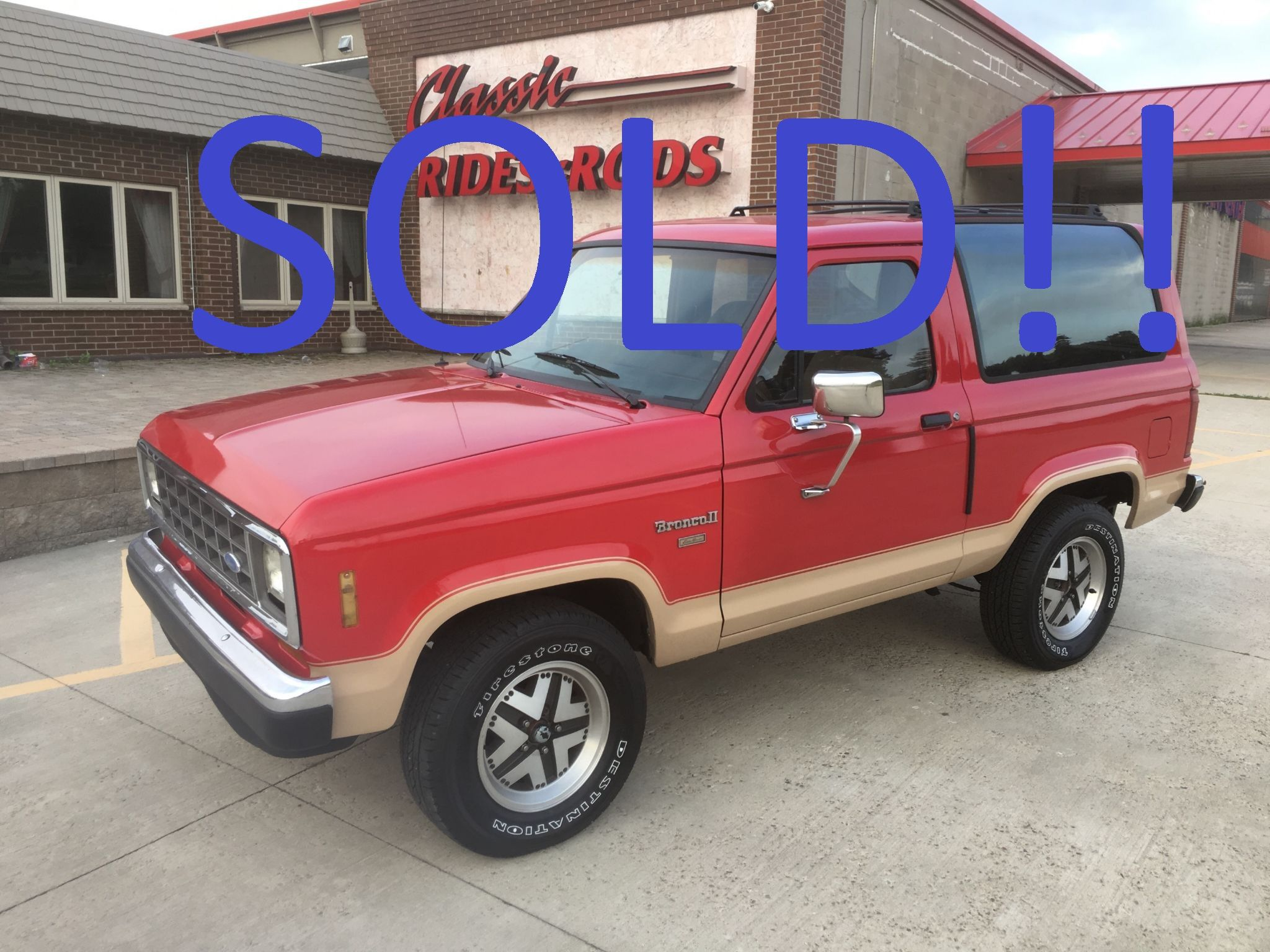 Ford Bronco II Sold