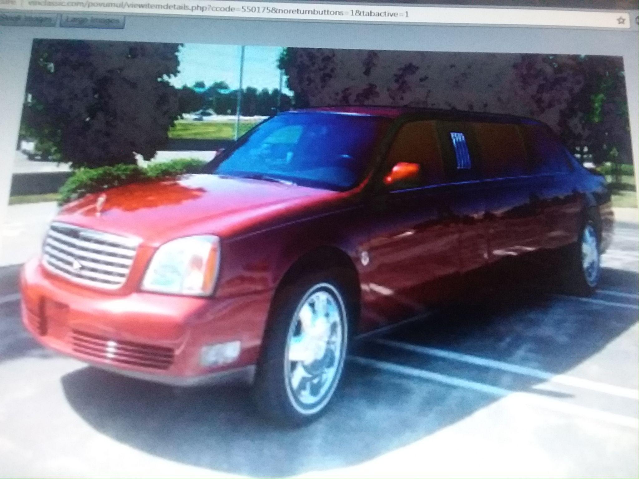 Cadillac 6 Door Limousine