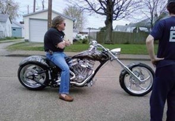 Harley Davidson Pro Street Custom