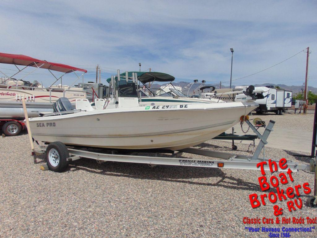 Sea-Pro 180 CC Center Console Fishing Boat