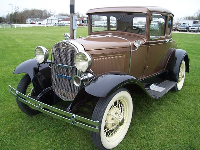 Ford Model A 2 DR. Coupe