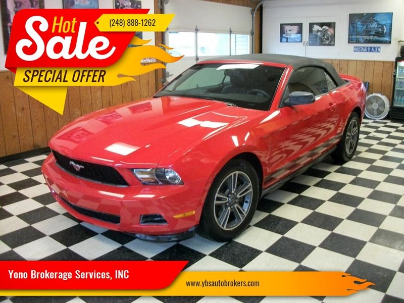 Ford Mustang V6 Premium 2DR Convertible