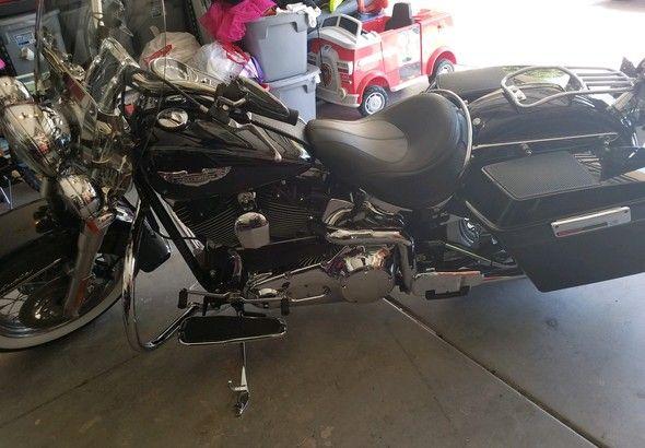 Harley Davidson Flstni Softail Deluxe