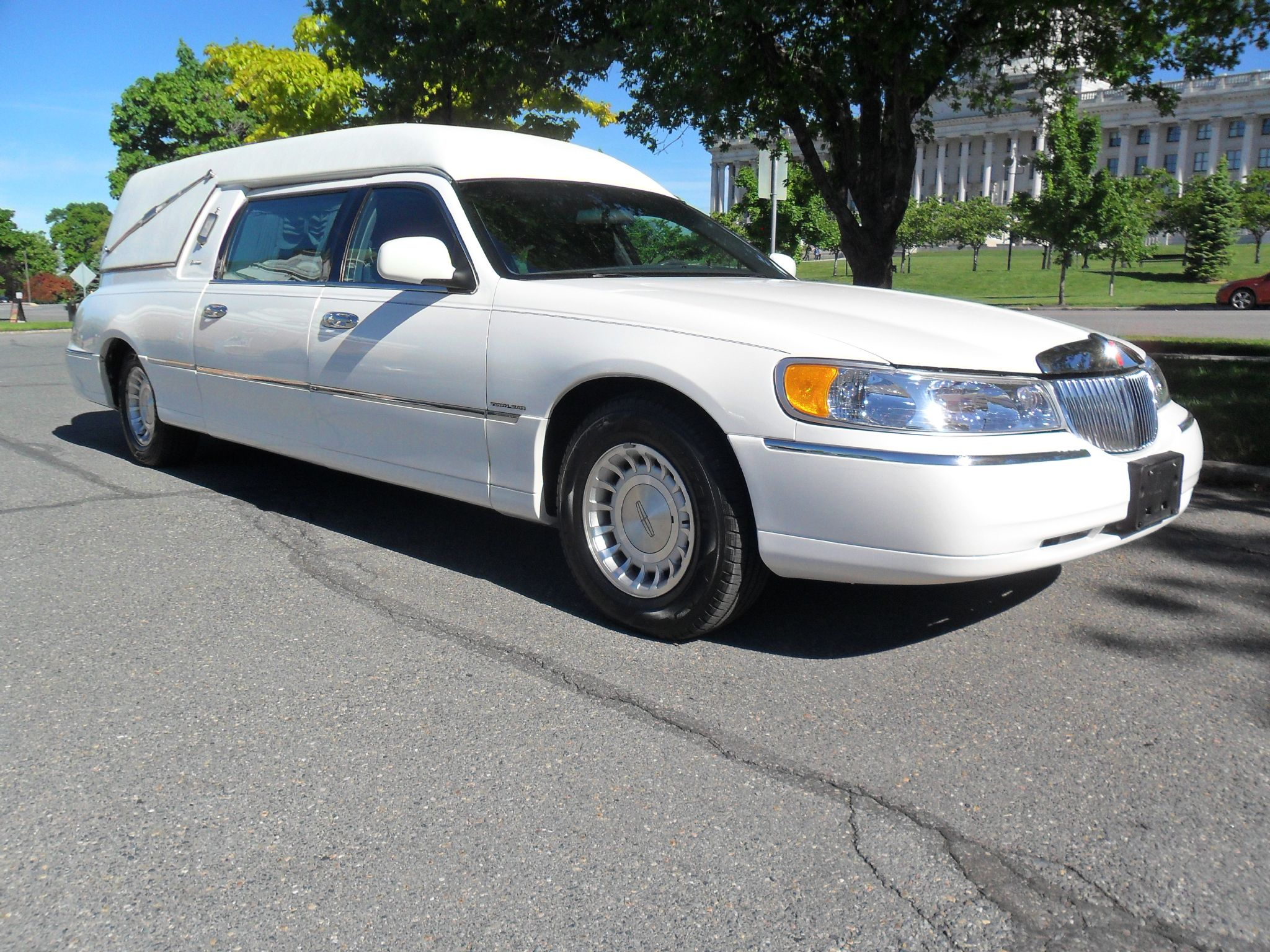Lincoln Hearse Built BY Eureka Coach Company