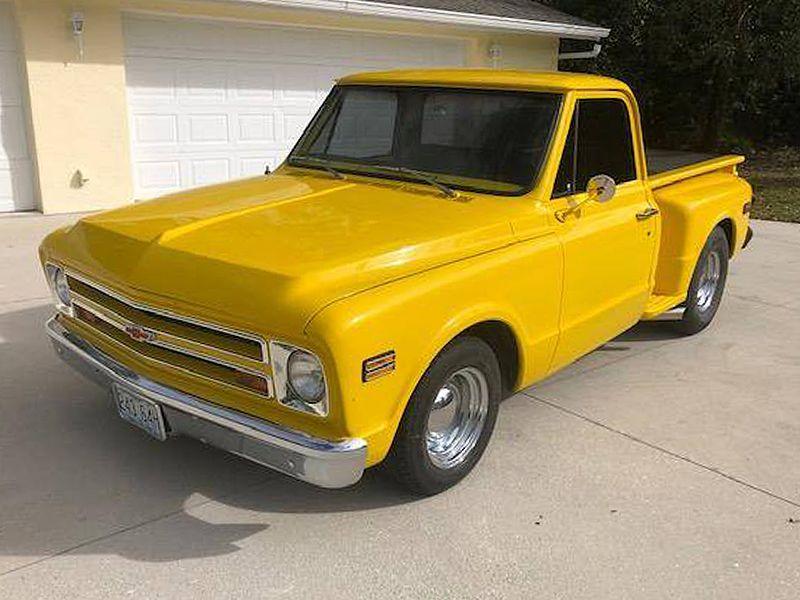 Chevrolet Custom 10 Shortbed Stepside Pickup