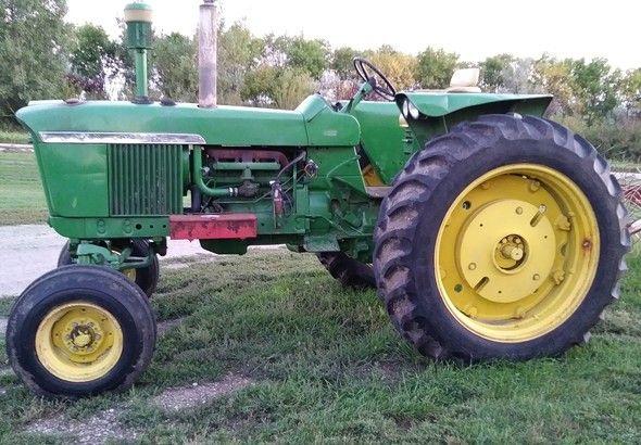 John-Deere -Tractor